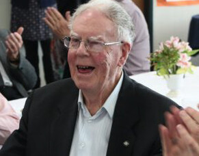Bishop Owen Dolan celebrates his 90th birthday