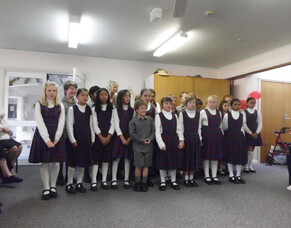 St Josephs Waihi entertaining Hetherington House